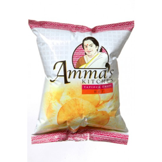 Amma's Kitchen Tapioca Chips 200gm