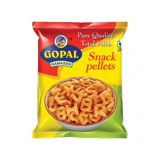 Gopal Snack Pellets Alphabet 85g