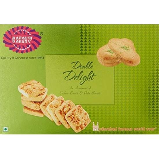 Karachi Bakery Two Majestic Selection (Cashew+Green Pista) 400gm